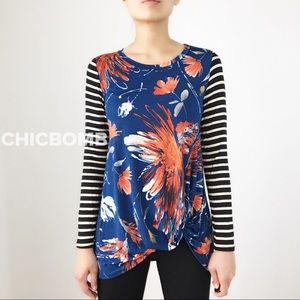 Prairie Fire long sleeve top blouse tunic